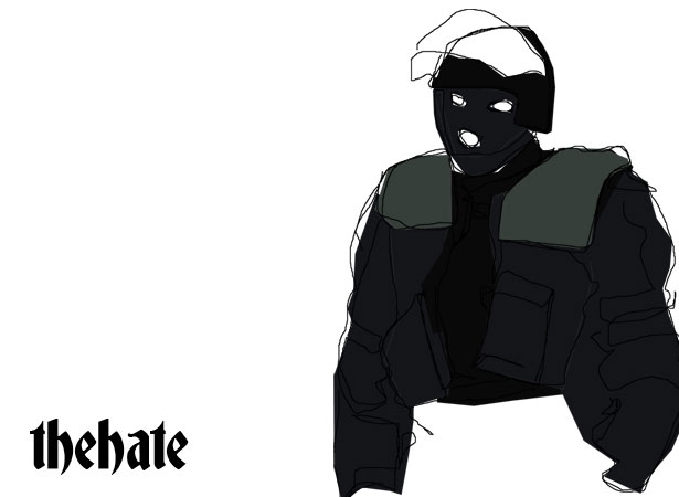 black-male - The Hate