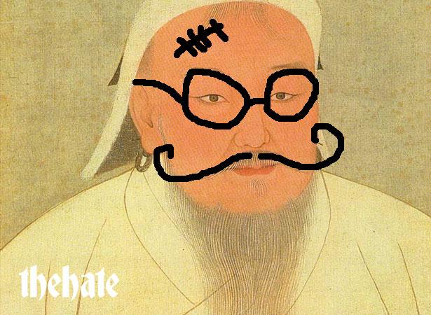 genghis-khan - the Hate